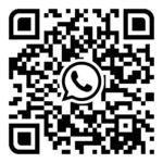 QR-Code um ein Taxi per WhatsApp zu bestellen