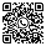 qr-code to order a taxi via WhatsApp